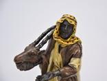 Фигурка Бедуин. Бронза, подпись photo 8