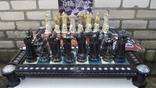 Коллекционные шахматы,фигурки со спецэффектами!Большая доска.