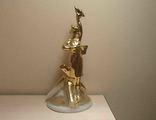Фронтовая регулировщица Барановка в золотой глазури