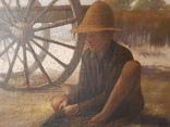 Большая картина второй половины XIX века. photo 2