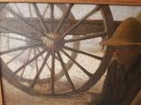 Большая картина второй половины XIX века. photo 3