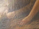 Большая картина второй половины XIX века. photo 5