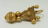 Большой золотой подвес, раннее средневековье photo 3