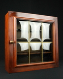 Шкафчик для хранения курительных трубок. Европа. (0398)