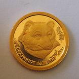 25 рублей 1993 г. Сохраним наш мир. Бурый Медведь
