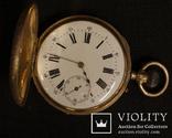 Швейцарские Карманные Золотые Часы Dubois s Co . Золото 750 проба ( 18 карат )