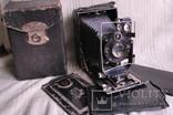 Фотоаппарат Фотокор-1, №19881, ВООМП, Compur, Анастигмат. №1