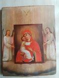 Владимирская икона. 19 век.Интересный сюжет