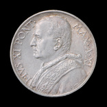 10 Лир 1932 Папа Пий ХІ, Ватикан UNC