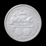 50 Центов 1893 Колумб, США