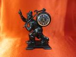 Часы каминные Молния статуэтка Касли Хранитель Времени 1971г. СССР