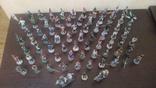 Оловянные солдаты , миниатюры 73 шт