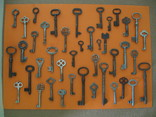 Колекція старих ключів ( 41 шт.)