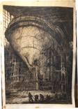 В эллинге,офорт,бумага,1960,автор-засл деятель искусств Украины В. Новиковский