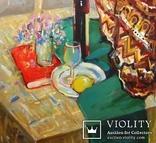 Натюрморт с лимоном. Холст, масло. 95*68. 1998г. Солодовников И. photo 6