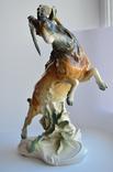 Статуэтка Горный козел с ящерицей Karl Ens (Карл Энц) Германия 33см