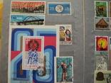 Альбом с марками блоками.около 400 шт photo 10