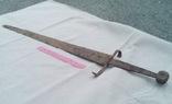 Средневековый европейский меч 14-15 ст.
