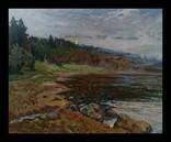 Пейзаж 1943 г. 100 / 80 см.