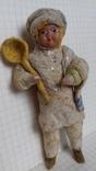 Елочная игрушка из ваты Повар
