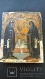 Икона св.Сергей и св.Герман Валоамские
