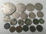 Срібні монети 17 століття