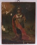 """Икона """"Св. Иоанн Воин"""", 36,5x29,5 см."""
