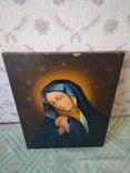 Старая икона. Дева Мария.