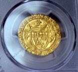 Франція Екю 1422-61 PCGS-UNC