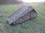 Одноместная палатка армии Голландии DPM (можно соединять между собой не ограничено)