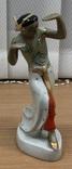 Индийский танец. Барановка. Высота - 17 см.