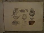 1879 Археология Троянская Война Микенская Цивилизация Альбом Огромного Формата
