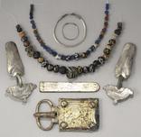 Комплекс.Готы.Вторая половина 5-го века.Серебро.