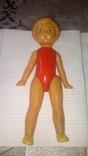 Кукла Пловчиха клеймо Шостка целлулойдная СССР.