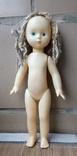 Паричковая кукла на резинках СССР 40 см.