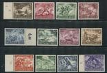 1943 Рейх Вермахт война полная серия MNH **