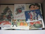 Ящик открыток более тысячи штук