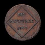 1 Крейцер 1805, Зальцбург