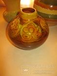 Три керамических вазы, фото №4