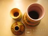 Три керамических вазы, фото №7