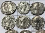 Рим денарии ж. причёски 14 монет