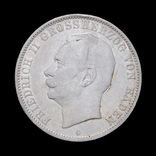 5 Марок 1913 Фридрих II, Баден