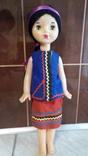 Кукла в национальном костюме паричковая 55 см.