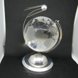 Настольный сувенир. Спутник вокруг земного шара. Космос. Стекло., фото №2