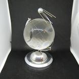 Настольный сувенир. Спутник вокруг земного шара. Космос. Стекло., фото №6