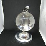 Настольный сувенир. Спутник вокруг земного шара. Космос. Стекло., фото №7