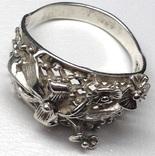 Кольцо, серьги, фото №7