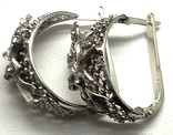 Кольцо, серьги, фото №8