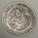 Китай 20 центов провинция Гирин