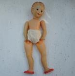 Кукла СССР, рельефные волосы, клеймо Д
